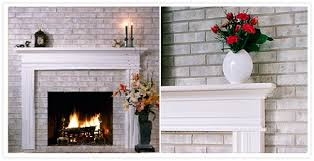 How To Cover Brick Fireplace by Brick Anew Fireplace Paint