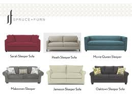 Small Sleeper Sofas Saavy Sleeper Sofas For Small Spaces U2014 Spruce Furn