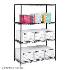 Wire Shelf Units Industrial Wire Shelving 48 X 24