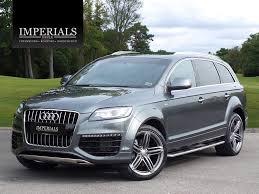 Audi Q7 Black Edition - used audi q7 s line sport edition for sale motors co uk