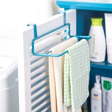 kitchen cabinet towel rail multipurpose kitchen cabinet door back type double pole towel rack