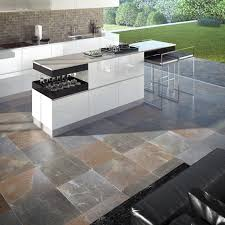 Outdoor Livingroom Indoor Tile Outdoor Living Room Kitchen Multicolor Slate