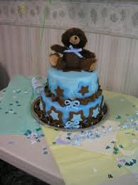 diy teddy bear cakes for a baby shower teddy bear baby shower