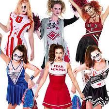 Dead Cheerleader Halloween Costume 17 Zombie Cheerleader Images Costumes