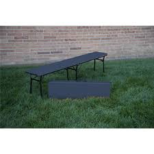 lifetime 6 ft fold in half picnic table with benches 80348 the