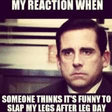 Funny Lifting Memes - slaps my leg funny gym meme