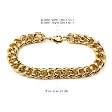 aliexpress buy nyuk mens 39 hip hop jewelry iced out aliexpress buy nyuk chain link bracelet 1 1cm width 22cm
