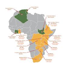 Rwanda Africa Map by About Us African Enterprise Australia