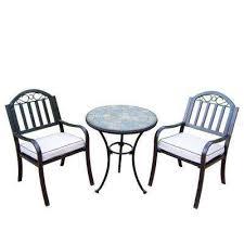 Sunbrella Bistro Chair Cushions Patio Bistro Chair Cushions U2013 Valeria Furniture