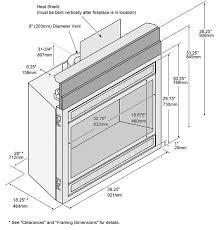 Fireplace Insert Dimensions by 564 High Output Dancing Fyre Fireplace Xtrordinair