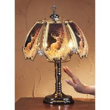 whitetail deer touch lamp 121538 lighting at sportsman u0027s guide