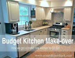 kitchen makeover ideas on a budget kitchen makeover ideas fitbooster me