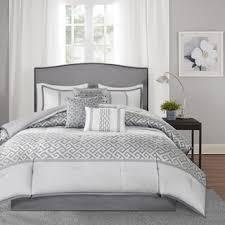 Charcoal Grey Comforter Set Shop For Madison Park Christian 7 Piece Comforter Set Get Free