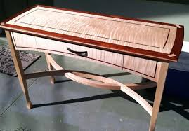 elegant hall table finewoodworking