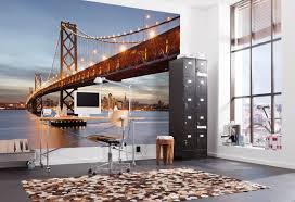 Wall Murals For Sale by Brewster Home Fashions Komar Bay Bridge Wall Mural U0026 Reviews Wayfair