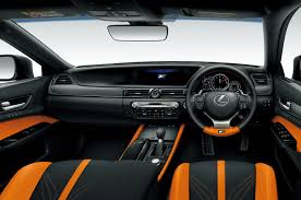 black lexus interior or not orange and black seats in the lexus gs f clublexus