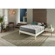 Low Profile Furniture by Simmons Beautysleep Marina Bay Full Plush Low Profile Mattress Set