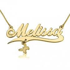 The Name Necklace 67 Best 14k Gold Name Necklace Images On Pinterest Necklaces