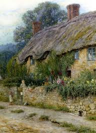 20 beautiful cottage paintings by artist helen allingham