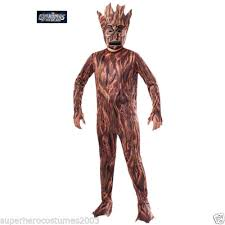 groot costume licensed guardians of the galaxy i am groot costume child med 5 7
