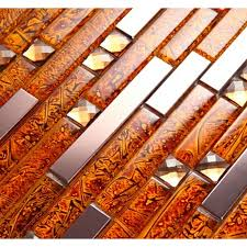 Gold Items Crystal Glass Mosaic Tile Wall Backsplashes by Special Offers Up To 30 Big Discount On Top Quality Items