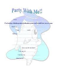 kindergarten graduation invitations free printable kindergarten graduation invitation