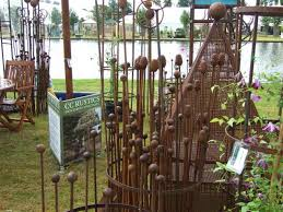 Support For Climbing Plants - cc rustics jake challenger ornamental iron plant supports from