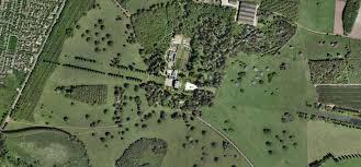 hawksmoor u0027s easton neston plus north wing by wren aerial view