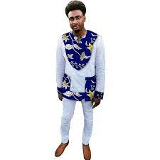 dashiki sweater sleeve t shirt colourful dashiki white cotton