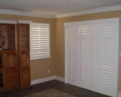 Sliding Shutters For Patio Doors Sliding Glass Door Plantation Shutters Jvids Info