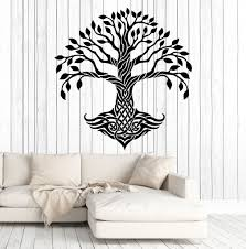 vinyl wall decal celtic tree pattern ireland irish art decor vinyl wall decal celtic tree pattern ireland irish art decor stickers murals ig4806