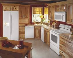 Honey Oak Kitchen Cabinets Kitchen With Dark Wood Cabinets Personalised Home Design