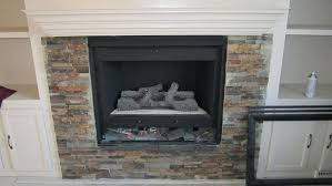 brick fireplace painted grey makeover with built in shelves stone
