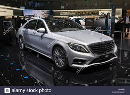mercedes hybrid car geneva switzerland march 7 2017 mercedes s500e in