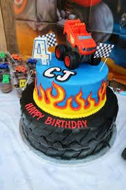 grave digger monster truck cake blaze birthday cake birthday cakes pinterest blaze birthday