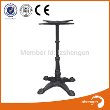 cast iron table bases for sale sale cast iron table base bar height 108cm metal table leg
