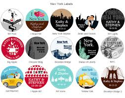 New York City Themed Party Decorations - new york theme party favors for your bar or bat mitzvah or wedding