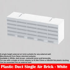 plastic ducting for ventilation 220x90 flat rectangular kitchen ducting ventilation extractor fan