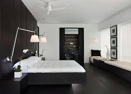 Black And White Laminate Flooring White Bedroom With Black Oak Laminate Flooring Flooring Ideas