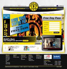 gold u0027s gym website design and development case study twmg