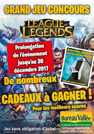 bureau vall albi grand jeu concours league of legends bureau vallee albi