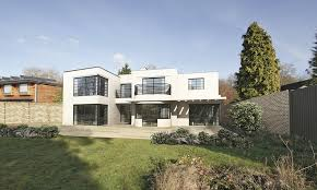 weberhaus this striking art deco style timber frame house is one