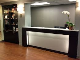 Reception Desk With Display R M Manufacturing Inc