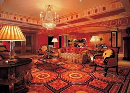 interior design amazing traditional living room with red and