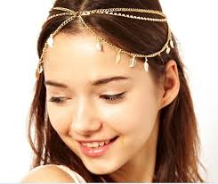 forehead headband zh0602 hair accessories forehead headbands fashion jewelry
