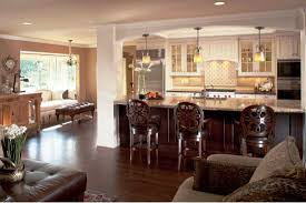 open kitchen plans with island two island open kitchen layouts riothorseroyale homes simple