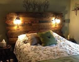 Headboards With Built In Lights Beds U0026 Headboards Etsy