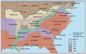 Battle Of New Orleans Civil War Map by Civil War