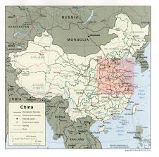 North Asia Map by Map Of China Today With Special Emphasis On The North China Plain