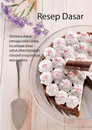 jual buku tres leches cake dessert lezat dengan bahan utama 3
